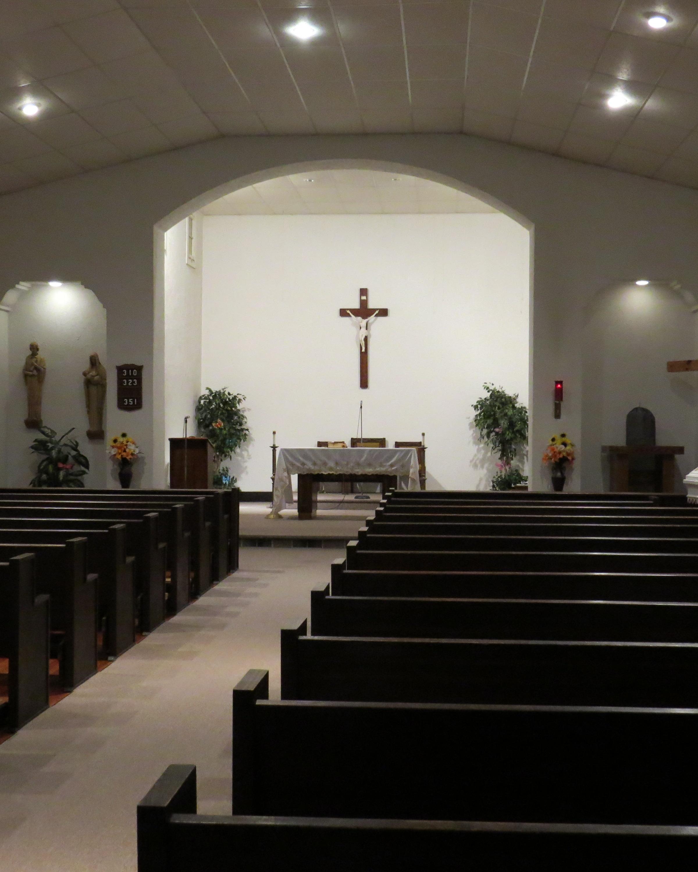 Church interior 2013