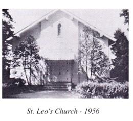 outside church 1956