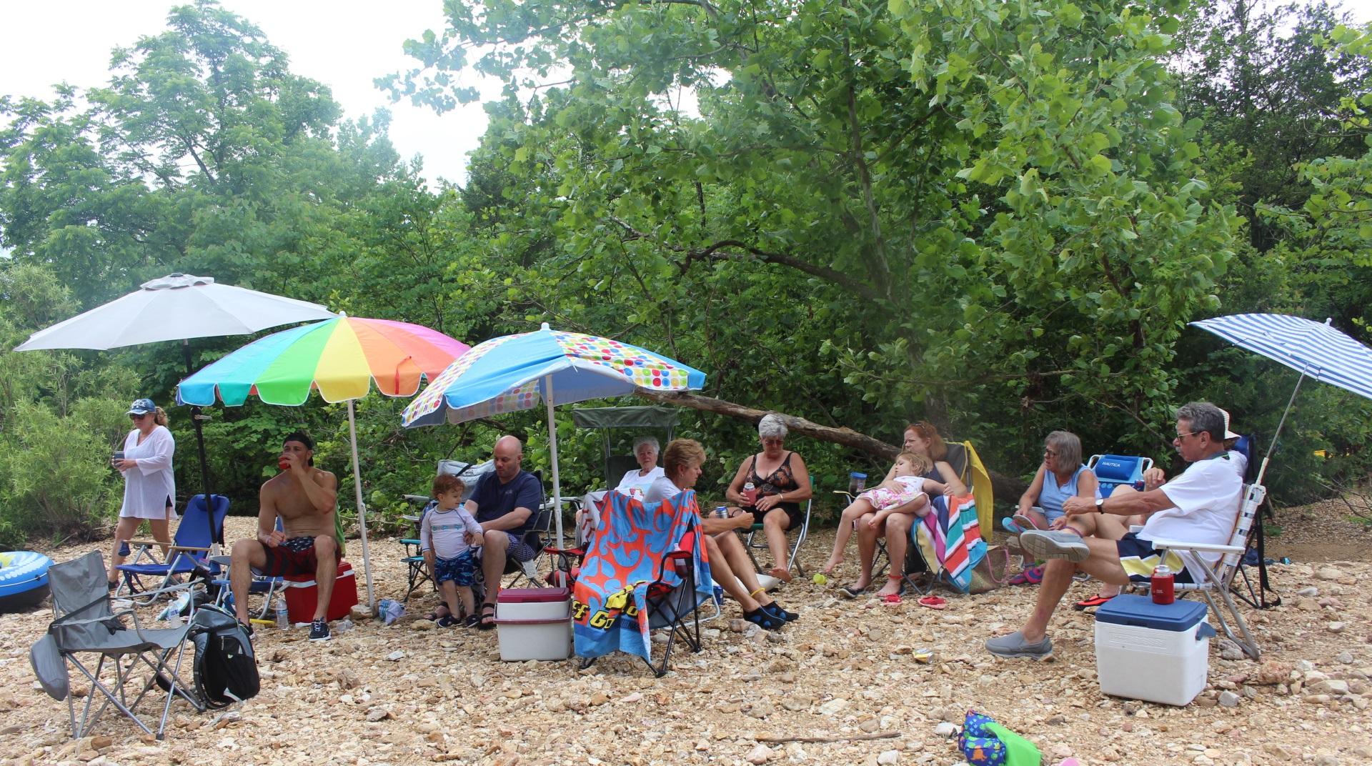 Big group - creek2