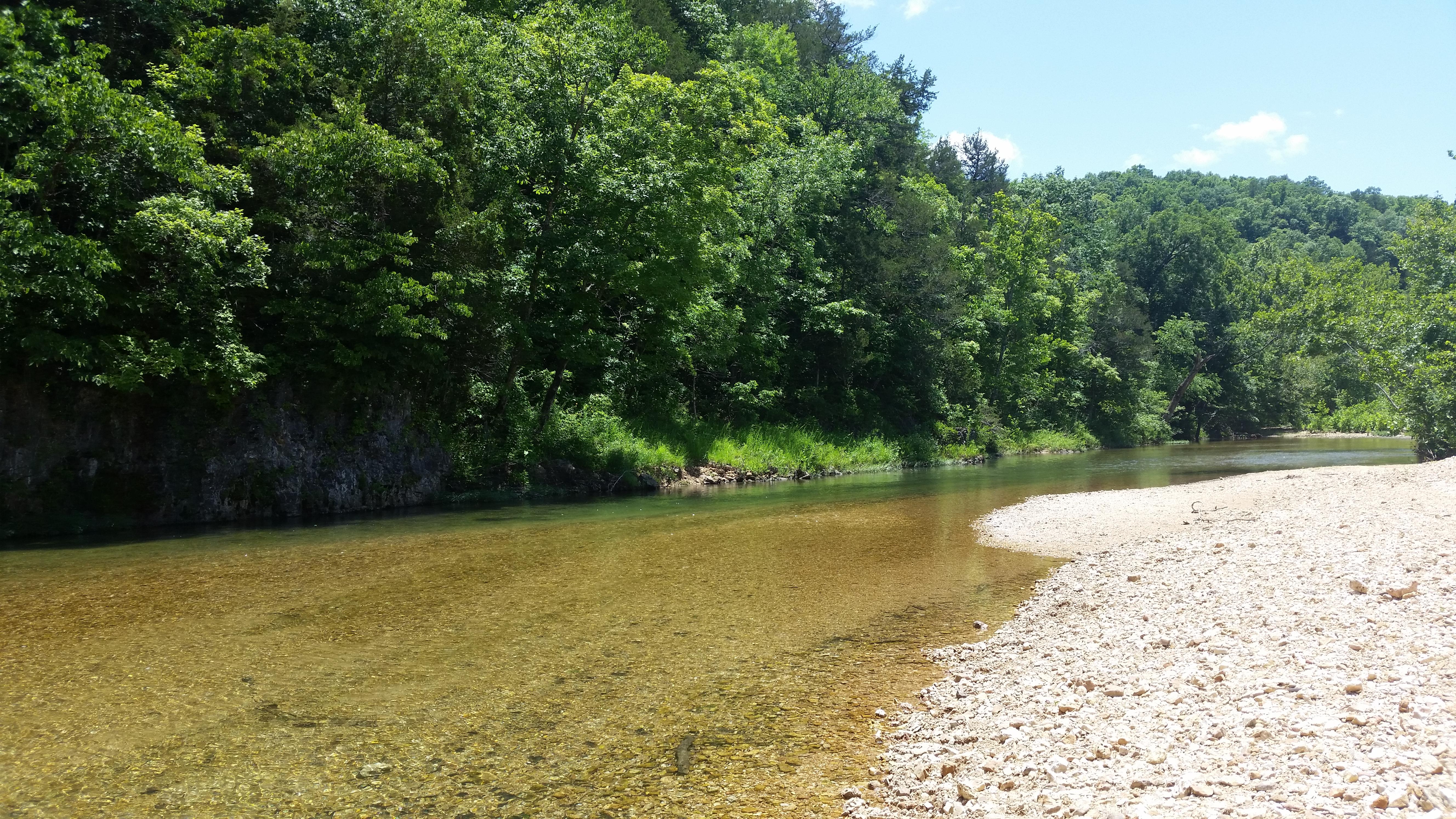 Creek - sandbar
