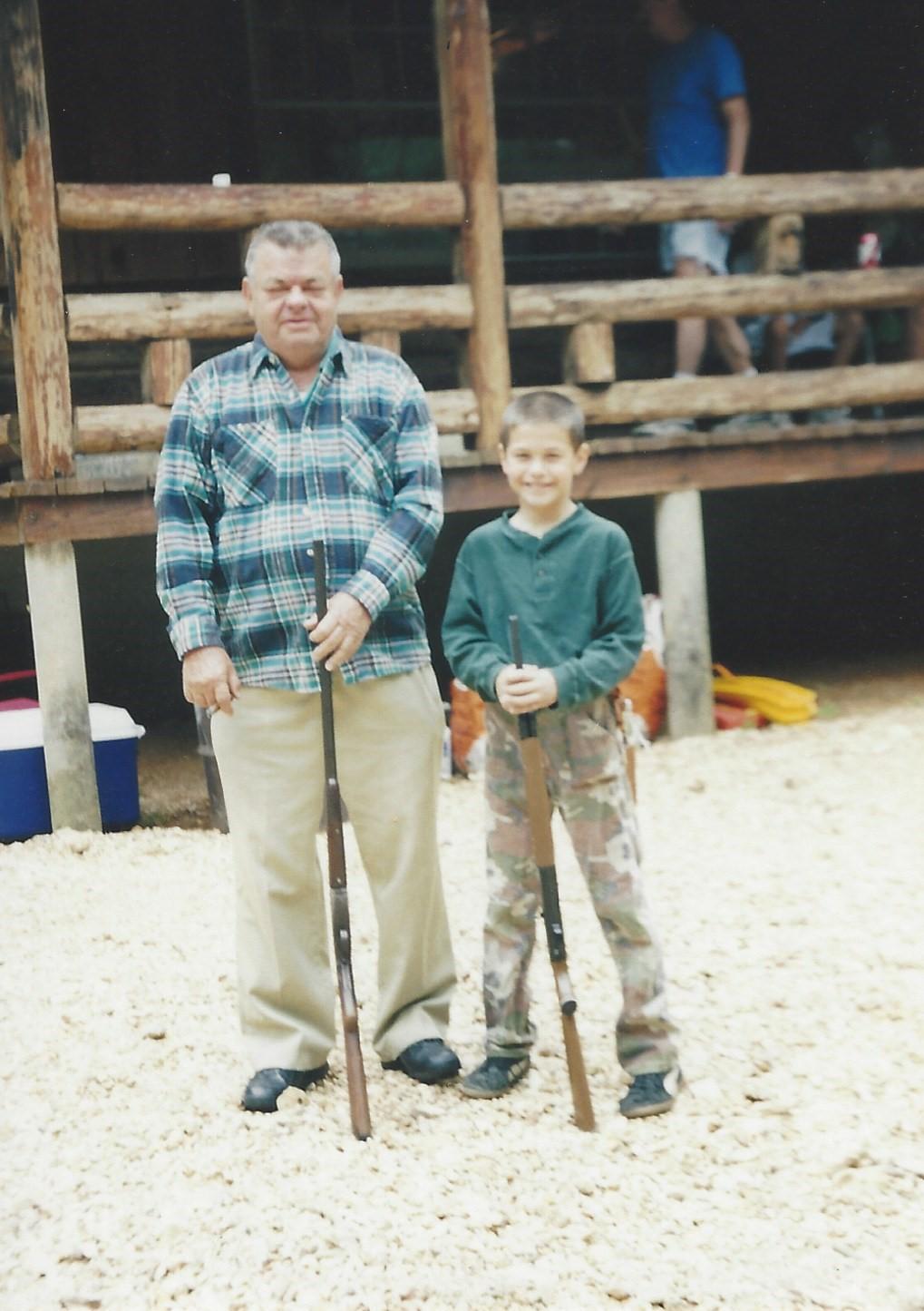 Dad-Rob little-rifles